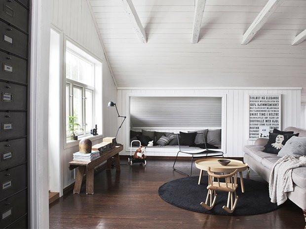Norwegian Loft Exemplifies Simplicity