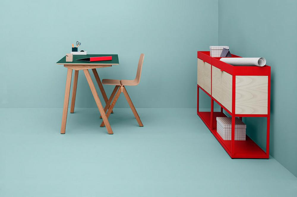 desk and shelfs_diez studio for hay