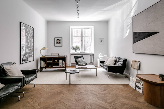 An Swedish Art Collector  Apartment