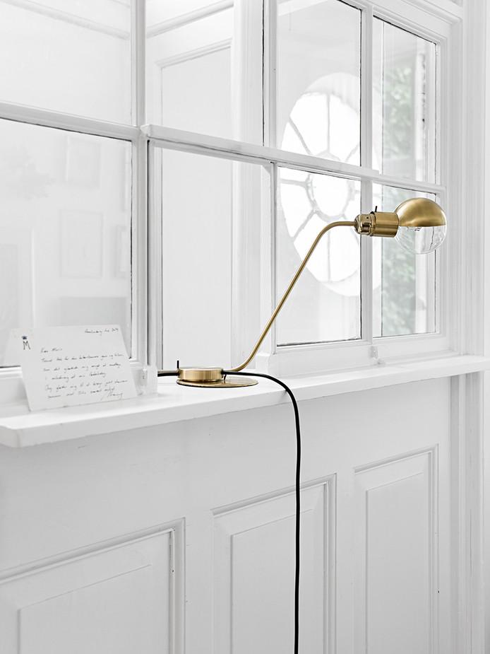 Earthy Tones in Copenhagen Apartment