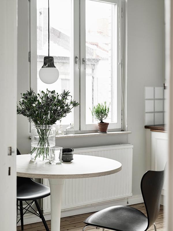 Inspiring dining space