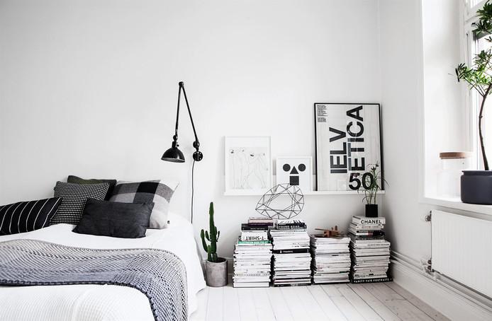 DIY Monochrom Apartment