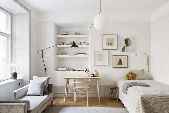 A tiny, Refined Swedish Apartment