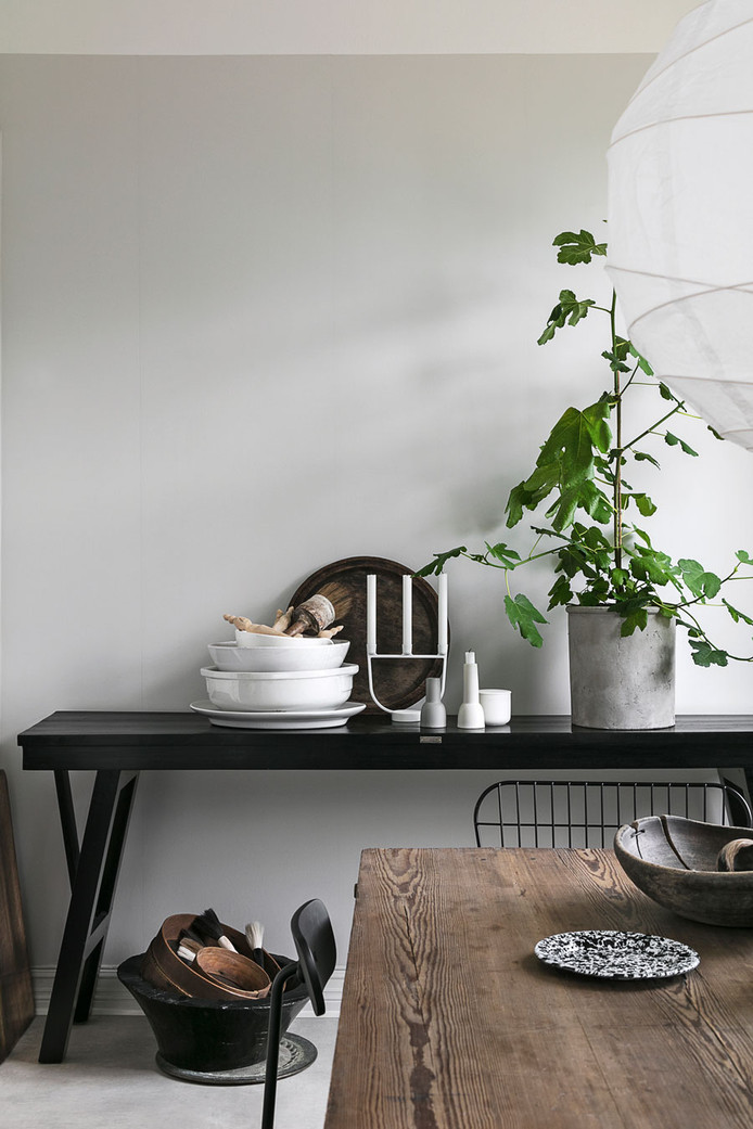 Nordic Style in Swedish blogger home