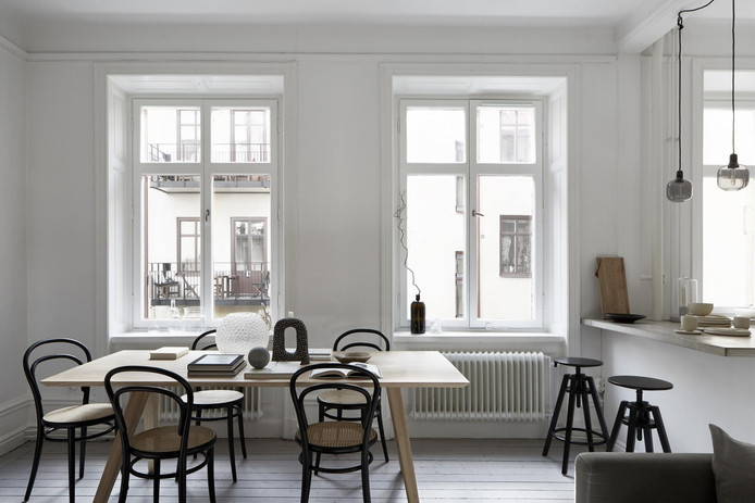 Monochrome with Rustic Touch