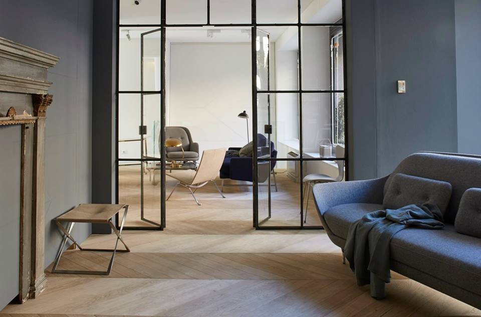 Fritz  Hansen Showroom Milan