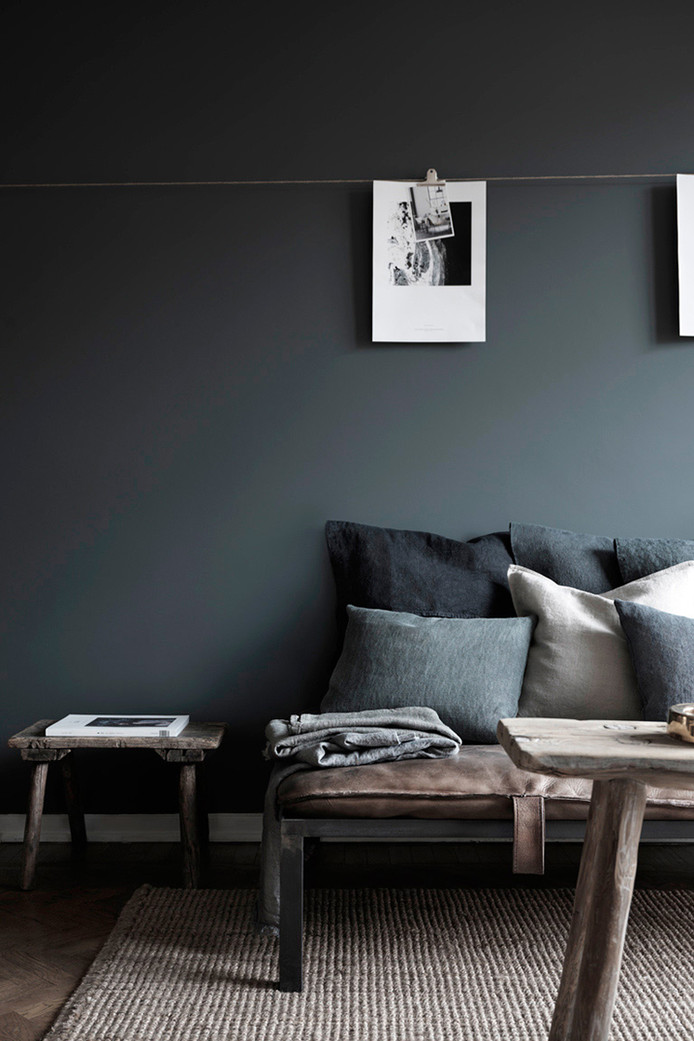 Shades Of Darkness In Stockholm Apartment