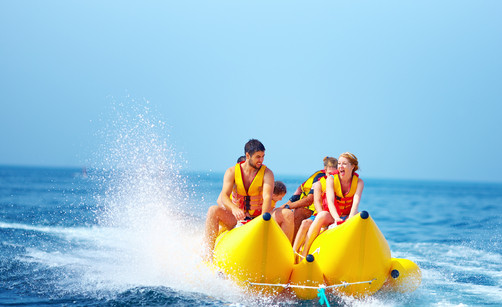 My Own Water Sports Banana Boat Adventure