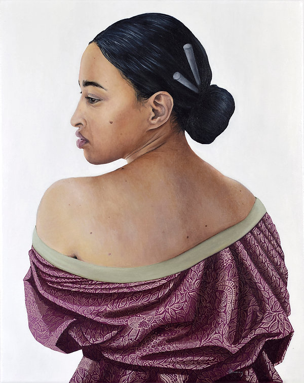 Spring - Pachamama. Jessica Oliveras painting