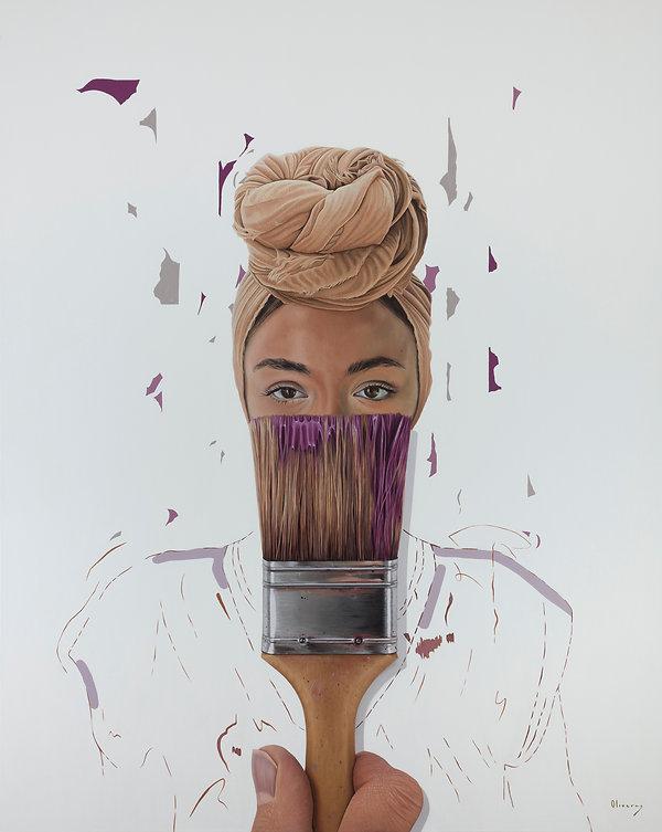 Jessica Oliveras - Yemen B-RUSH 120x80cm