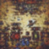 RVB composition-technique mixte sur papi