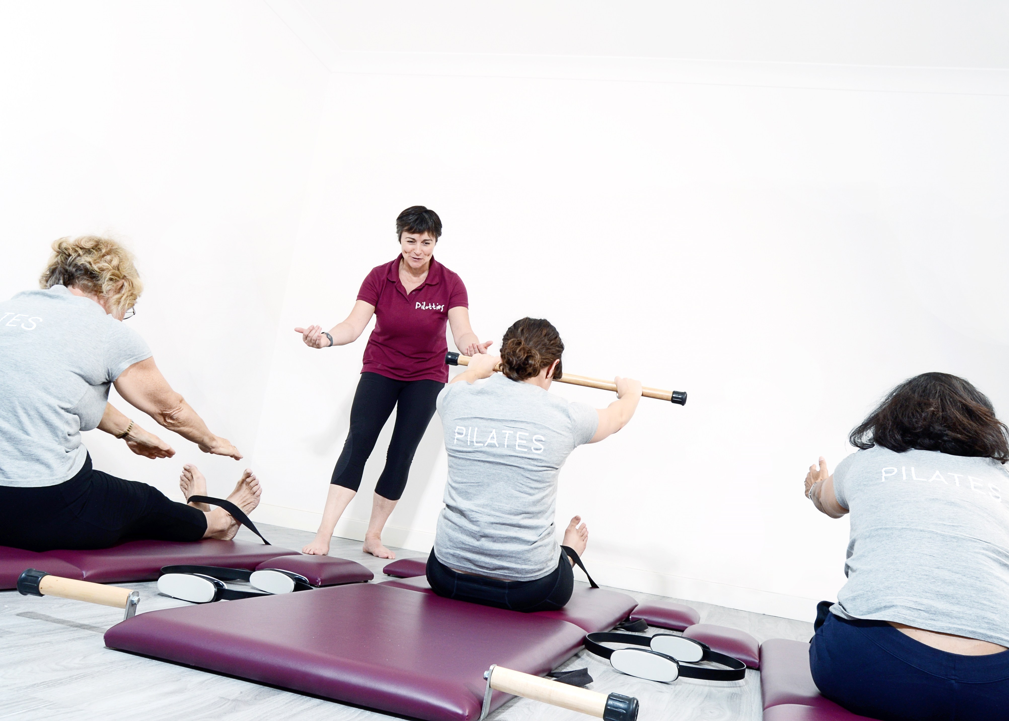 Pilates Mat Class - Rollup