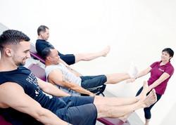 Pilates Mat Class - The hundred