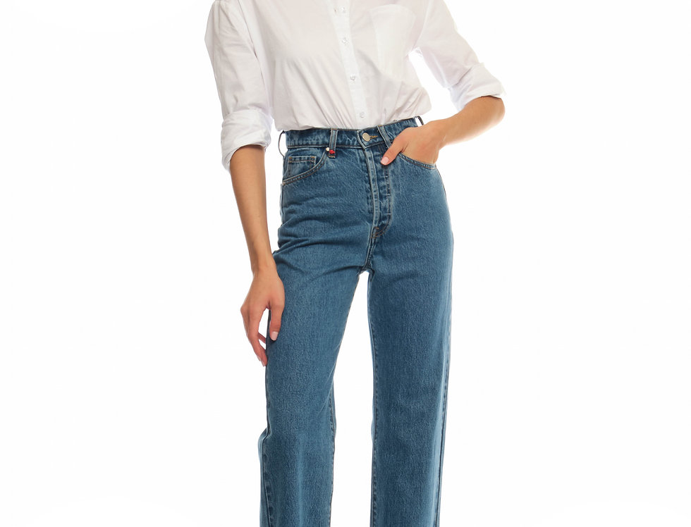 Jeans straight PAOLA Stone