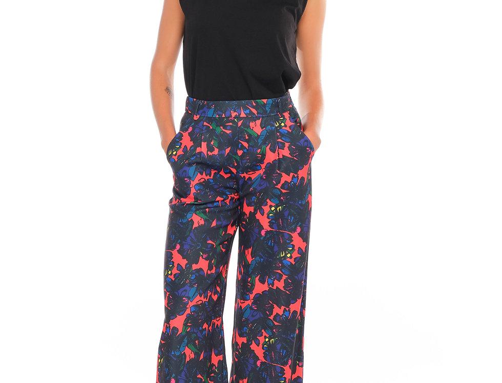 Pants ROXY Black Flowers