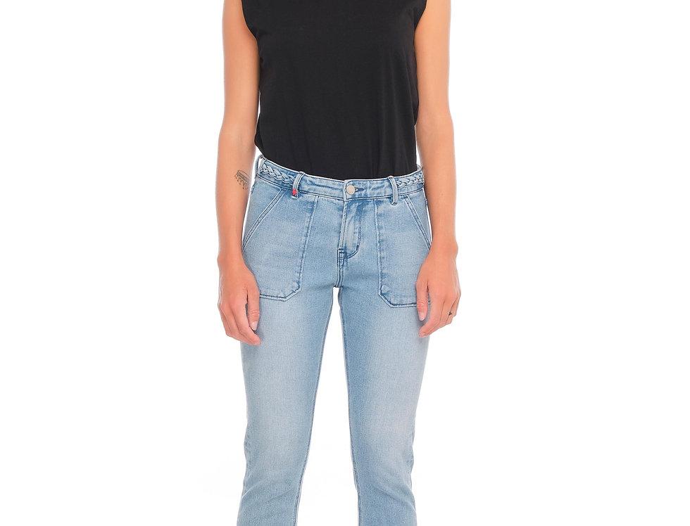Jeans carrot POLINE TRESSE Blue