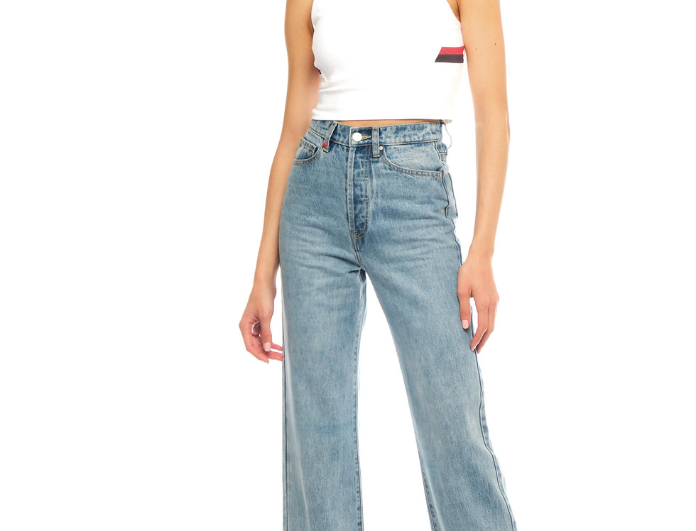 Jeans straight PAOLA Blue