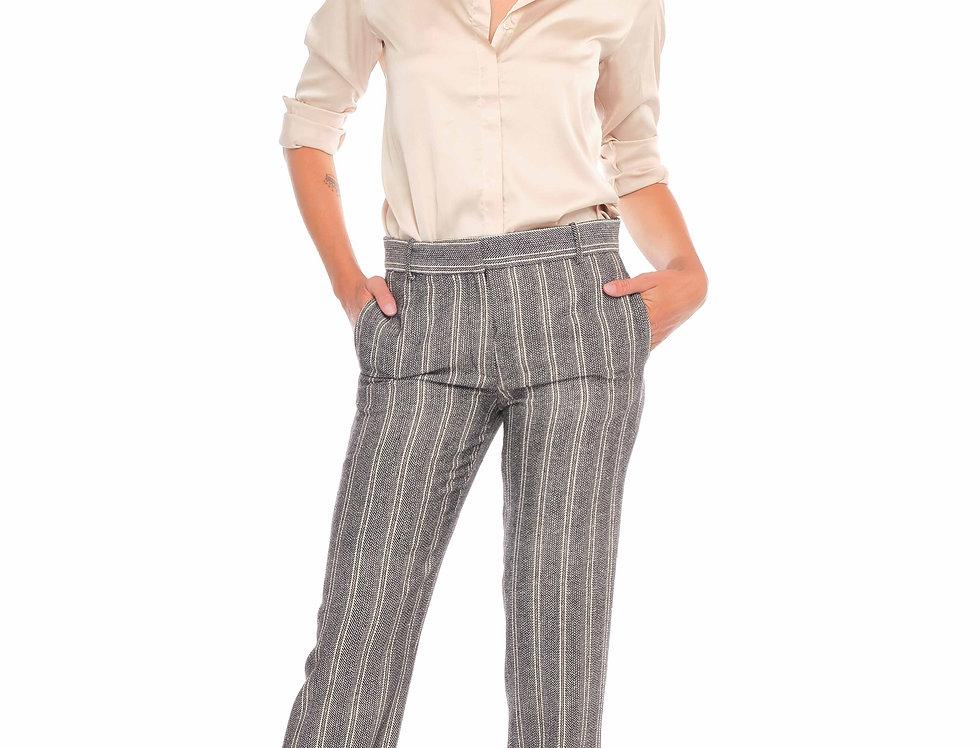 Pants RITCHIE Black Rayures