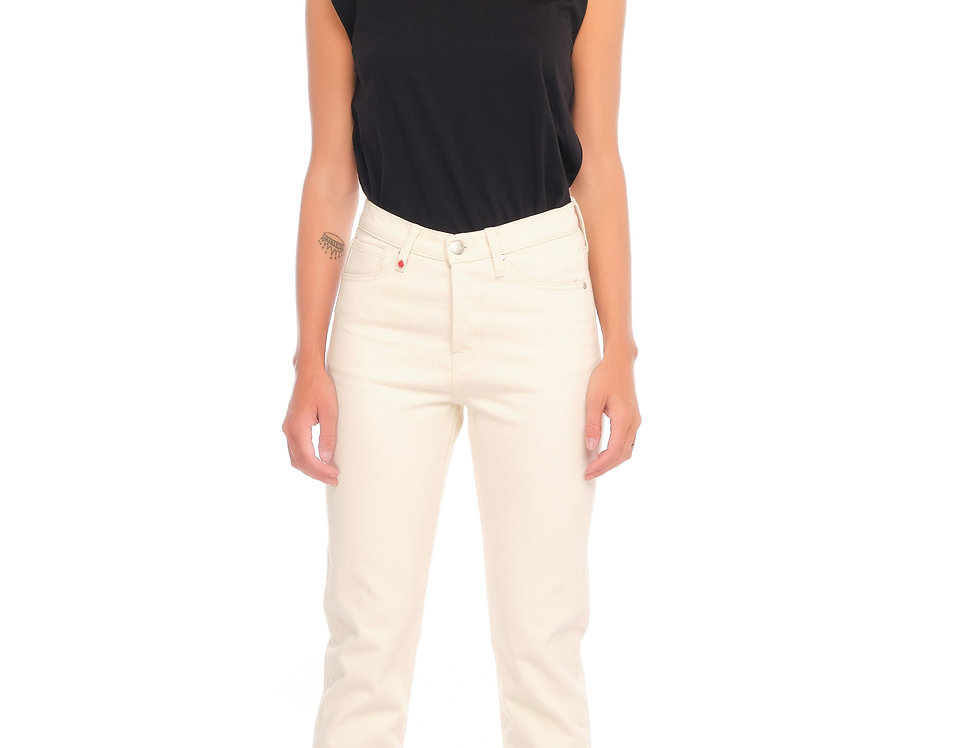 Jeans mom PATRICIA MFN Greige