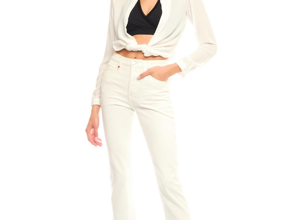 Jeans mom PATRICIA White