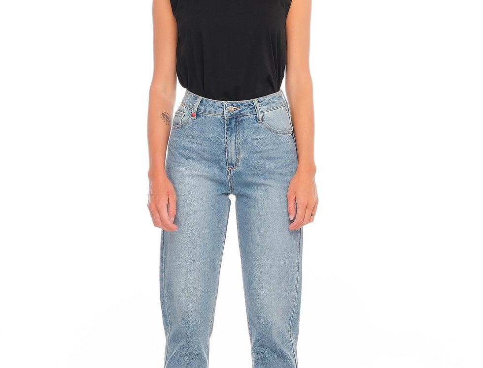 Jeans mom slim POLLY Blue jeans