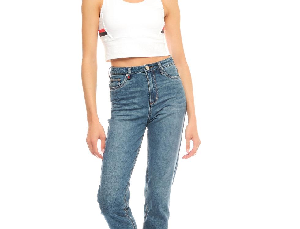 Jeans mom slim POLLY Stone
