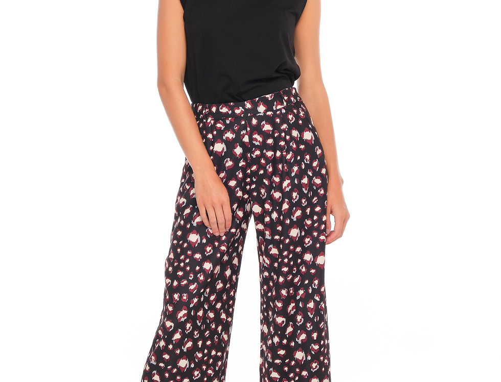 Pants ROXY Black/Wine