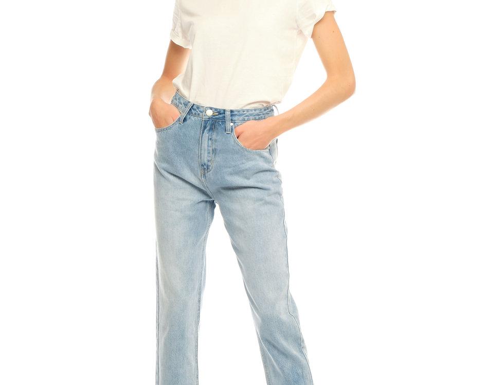 Jeans ballon cropped LOLA Blue
