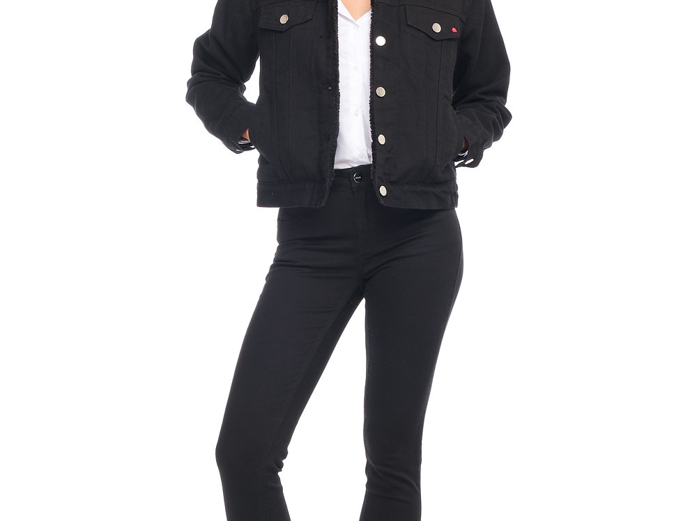 Jacket VIVI SHERPA Black