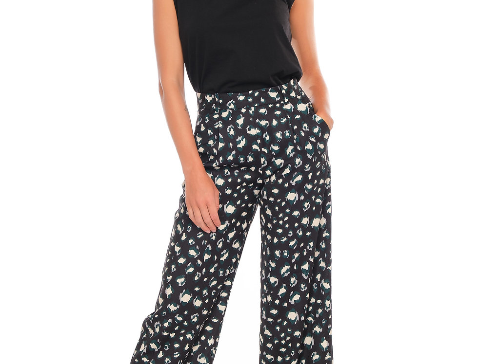 Pants ROXY Black/Green