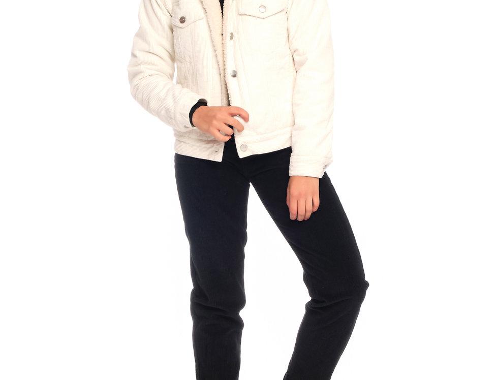 Jacket VIVI SHERPA White