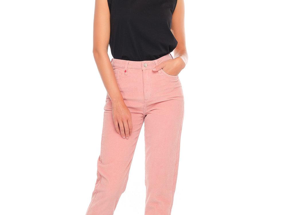 Mom Slim POLLY Pink