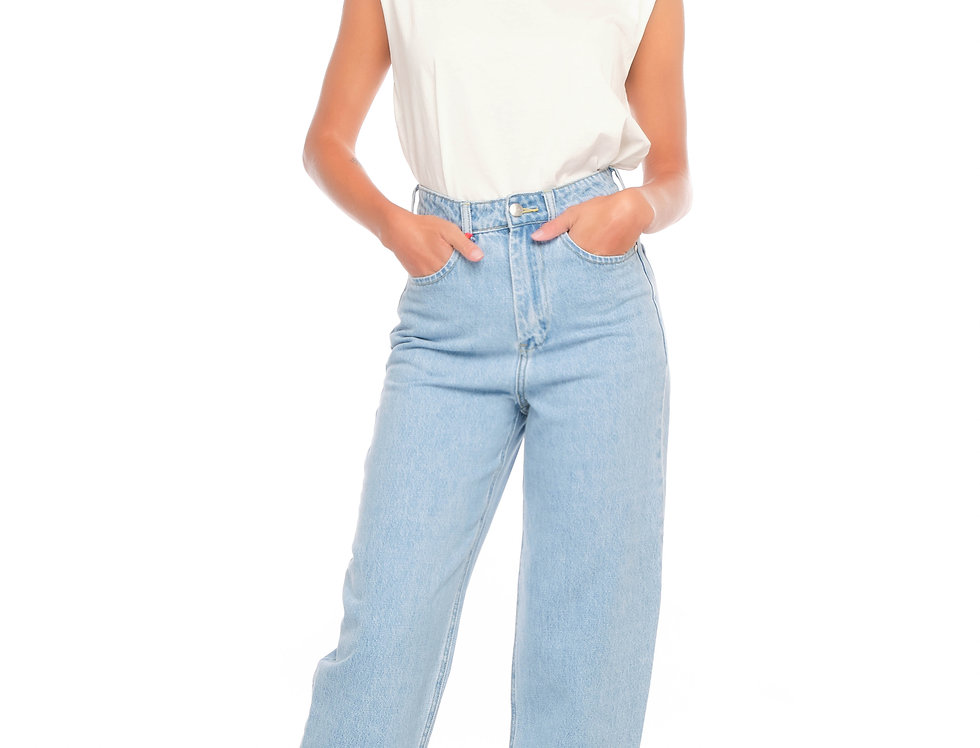 Jeans ballon cropped LEA