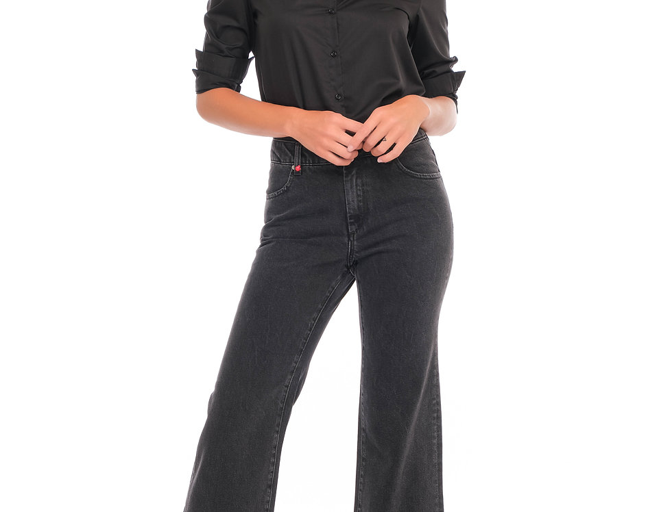 Jans wide cropped Fit FLO Black