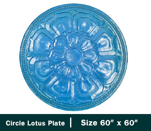 18.Circle Lotus Plate.jpg