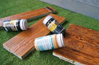 3 หินเทียมลายไม้ กับเทคนิคการทาสี Antique ที่ง่ายขึ้นกว่าเดิม !