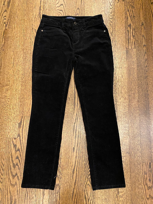 Talbots navy cord pants 2P