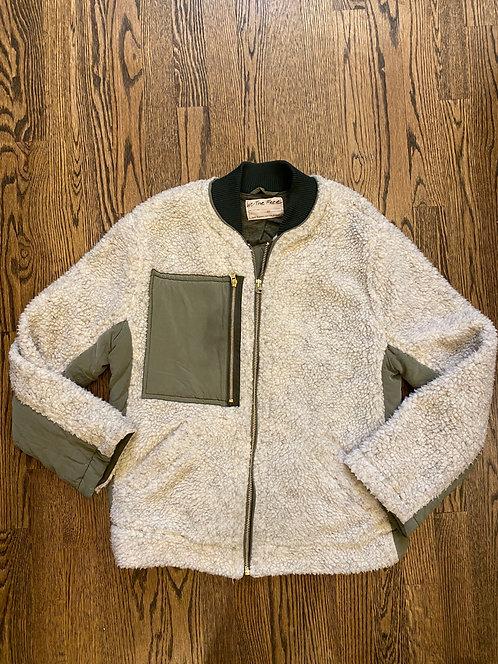 With The Free fleece zip jacket XS