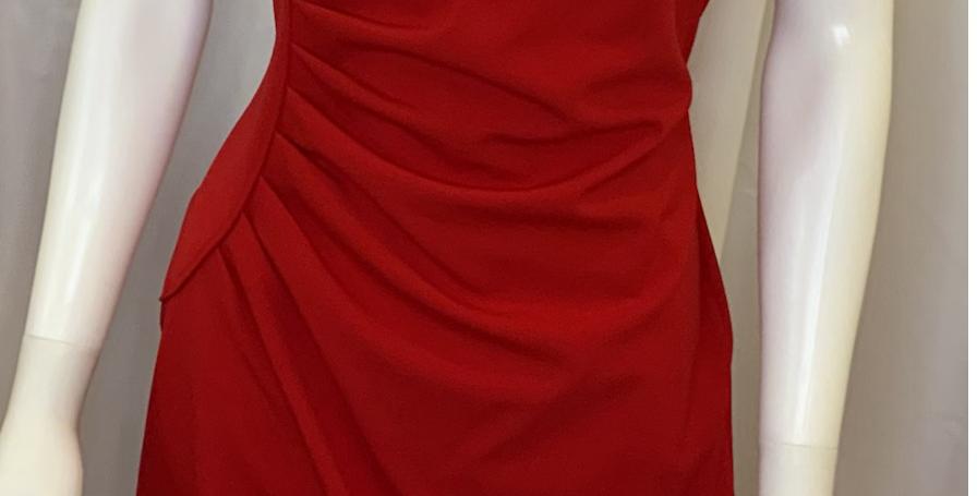Calvin Klein Red Tank Dress