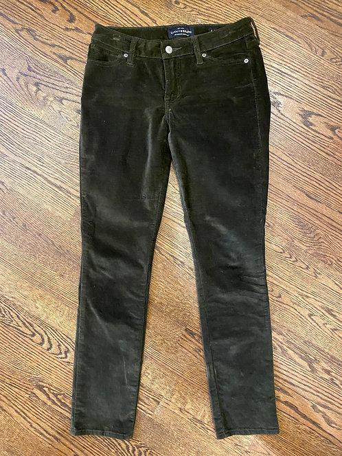 Lucky Brand soft olive pants 2