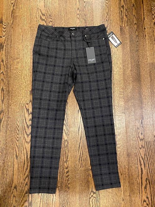 NWT Nine West plaid pants