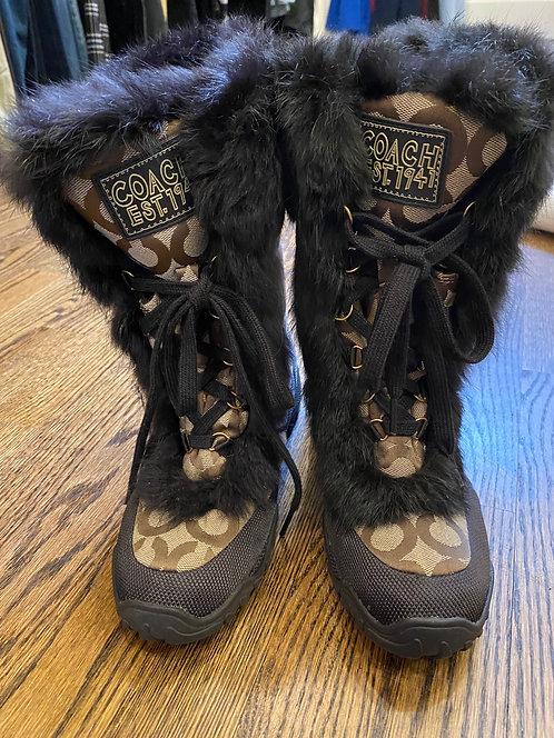 Coach winter boots (6.5)