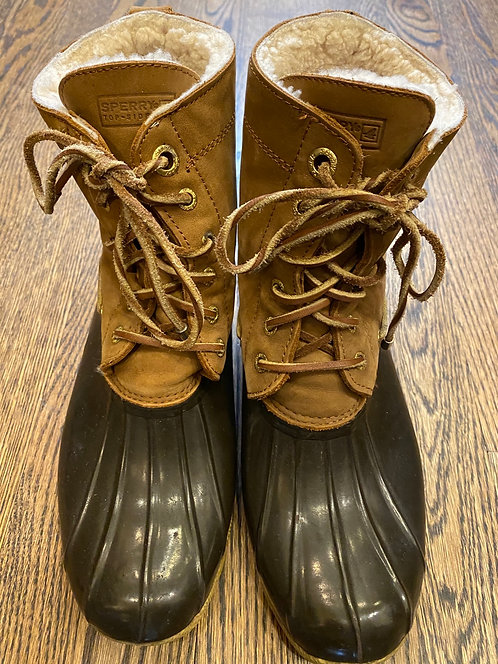 Sperry Top~ Sider boots 8