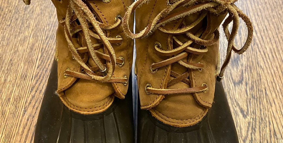 Sperry Top~ Sider Boots