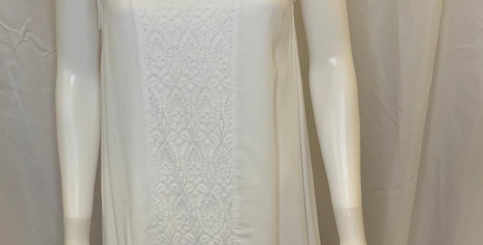 Simply Noelle Renaissance White Lace Tank Dress
