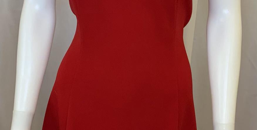 Ron & Ali Red Tank Dress w/vcut