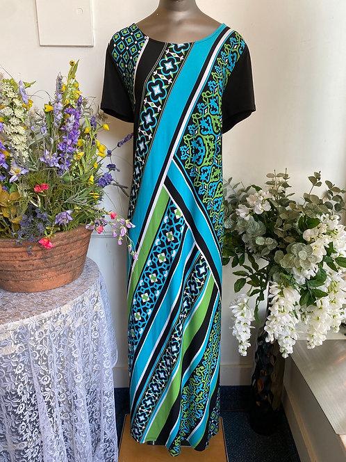 NWT Bob Mackie maxi dress L/XL