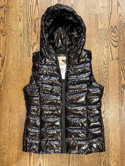 NWT Philosophy black outer vest XS