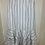 Thumbnail: Urban Outfitters White/Blk Striped Skirt