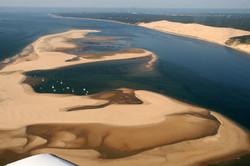 Le banc d'Arguin de la dune du Pilat